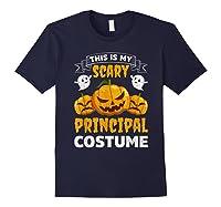 Principal Halloween This Is My Scary Principal Costume Shirts Navy