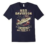 Davidson Ff 1045 Shirts Navy