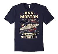 Uss Morton (dd-948) T-shirt Navy