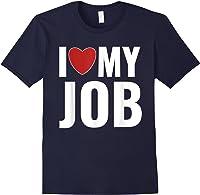 I Love My Job Entrepreneur Work T-shirt Navy