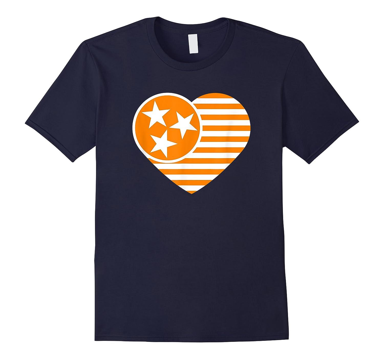 Tennessee Flag Shirt Vintage Distressed Usa Heart T Shirt