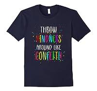 Throw Kindness Around Like Confetti Shirts Navy