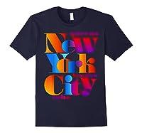 New York City T Shirt Urban Nyc Fashion Style T Shirt Nyc T Shirt Navy