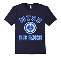 Middle Tennessee State 1911 University Apparel T Shirt Navy