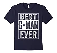 S Best G Man Ever Tshirt Father S Day Gift Navy