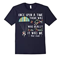Once Upon A Time There Was A Girl Who Really Loves Books Ts Shirts Navy