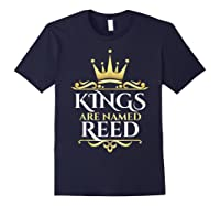 Kings Are Named Reed Shirts Navy