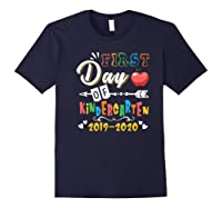 First Day Of Kindergarten Cute Gift For Teas Shirts Navy