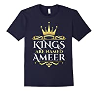 Kings Are Named Ameer T-shirt Navy