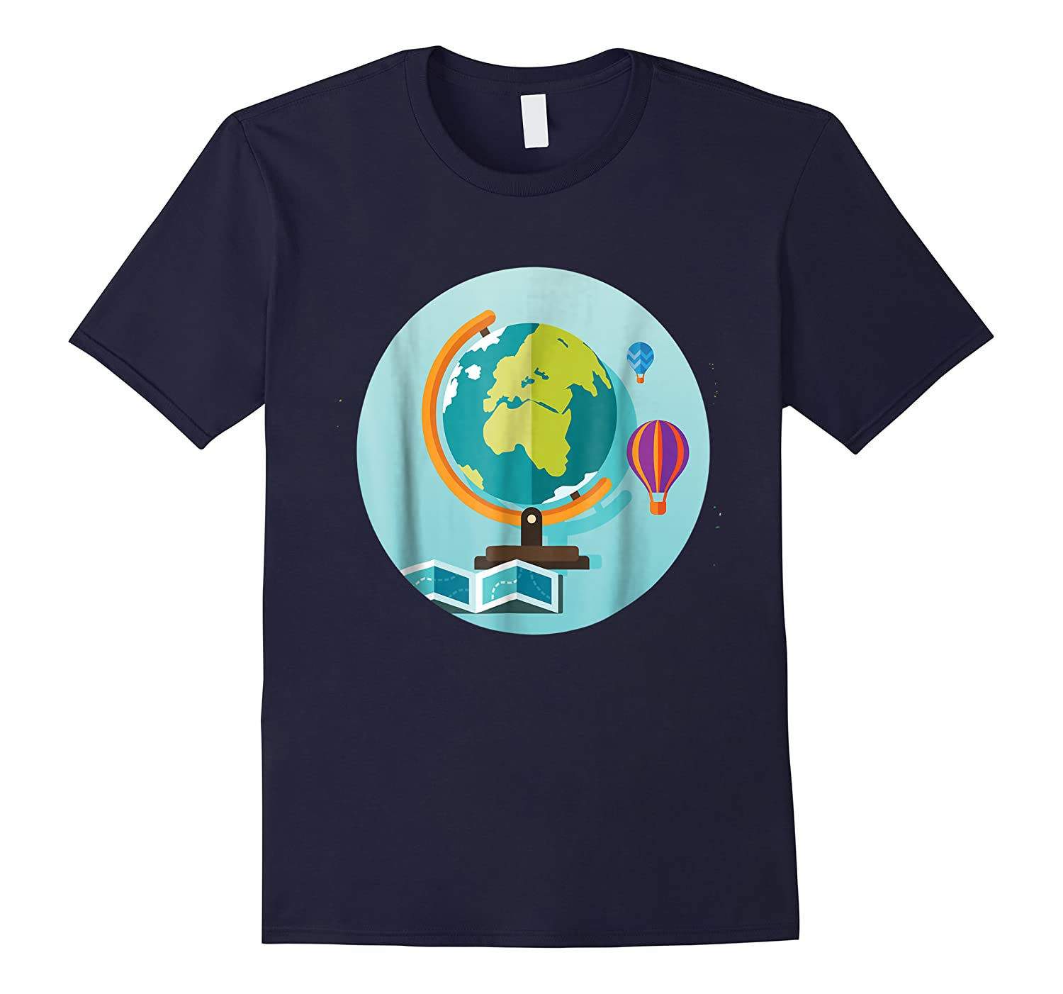 Science Design 4 Geography Travel T Shirt