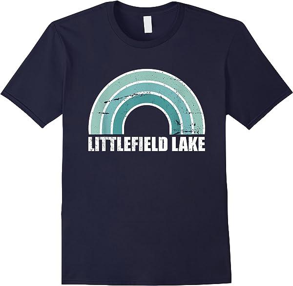 Littlefield Lake Michigan Family Vacation T-shirt