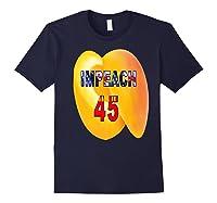Impeach 45 Premium T Shirt Navy