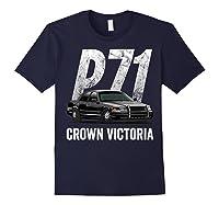 Police Car Crown Victoria P71 Shirt Navy