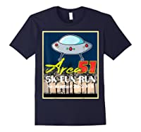 Area 51 5k Fun Run They Can't Stop All Of Us Shirts Navy