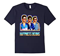 Happiness Begins Tour Music T Shirt Cool Jonas Shirt T Shirt Navy