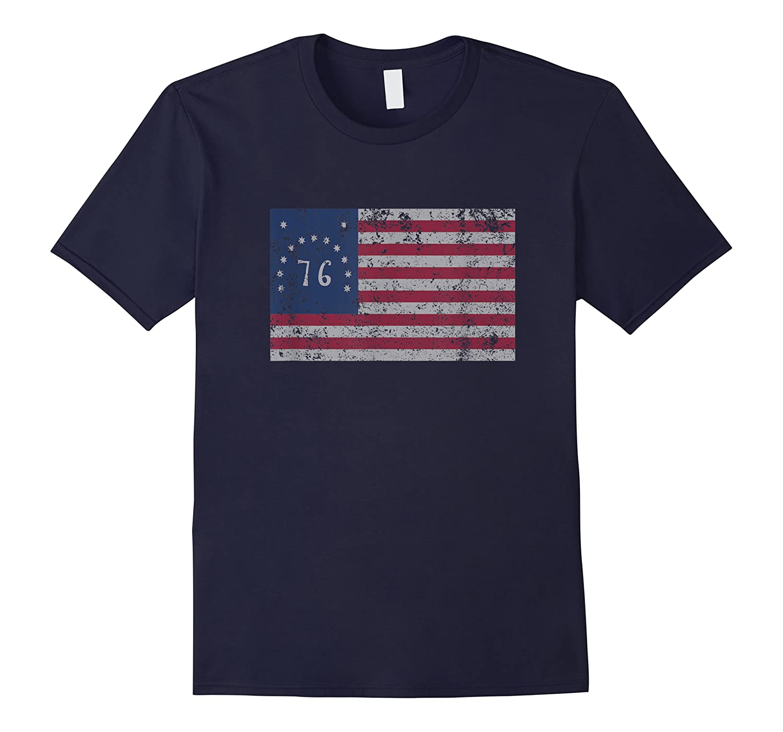 American Bennington Flag United States Of America 1776 Shirt