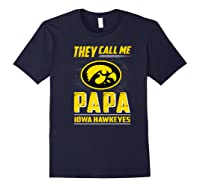 Iowa Hawkeyes They Call Me Papa T-shirt - Apparel Navy