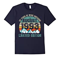 Born August 26 Limited Edition Bday Gift 26th Birthday Shirts Navy