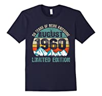 Born August 59 Limited Edition Bday Gift 59th Birthday Shirts Navy