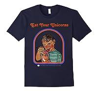 Eat Your Unicorn Meat T-shirt Navy