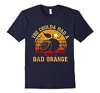 You Coulda Had A Bad Orange Happy Halloween Shirts Navy