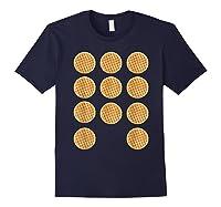 Eleven 11 Waffles T Shirt Tee Navy