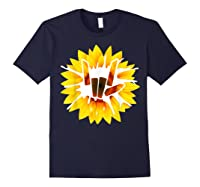 Share Love With Sunflower For And Shirts Navy
