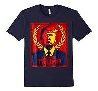 Comrade Trump Protest Resist Impeach Russia Propaganda Shirt Navy