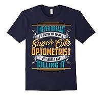 Optometry Optometrist Shirts Navy