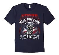 Memorial Day Honor The Fallen Thank The Living Veteran Shirts Navy