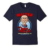 Walter Airway Heights Wa T Shirt Navy