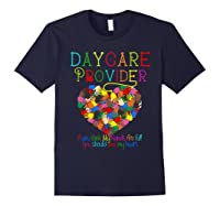 Daycare Provider Tshirt Appreciation Gift Childcare Tea Navy