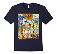 Wizard Of Oz Montage Shirts Navy