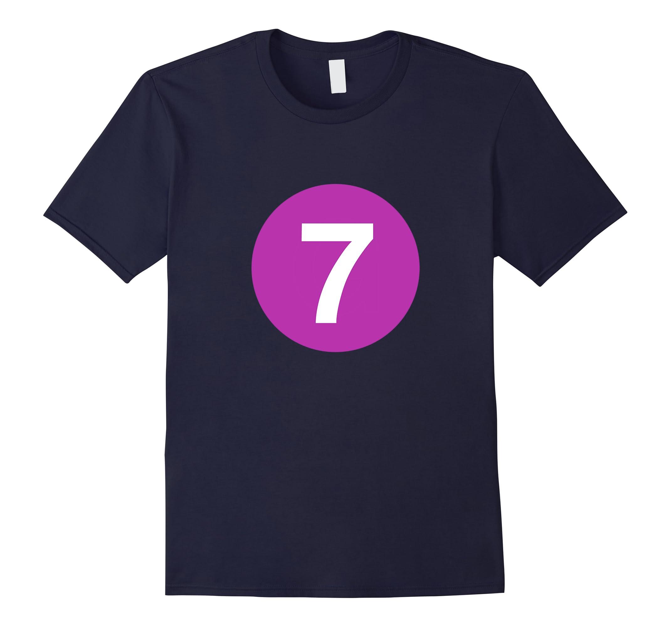 7 Line - NYC Subway Train Shirt-RT