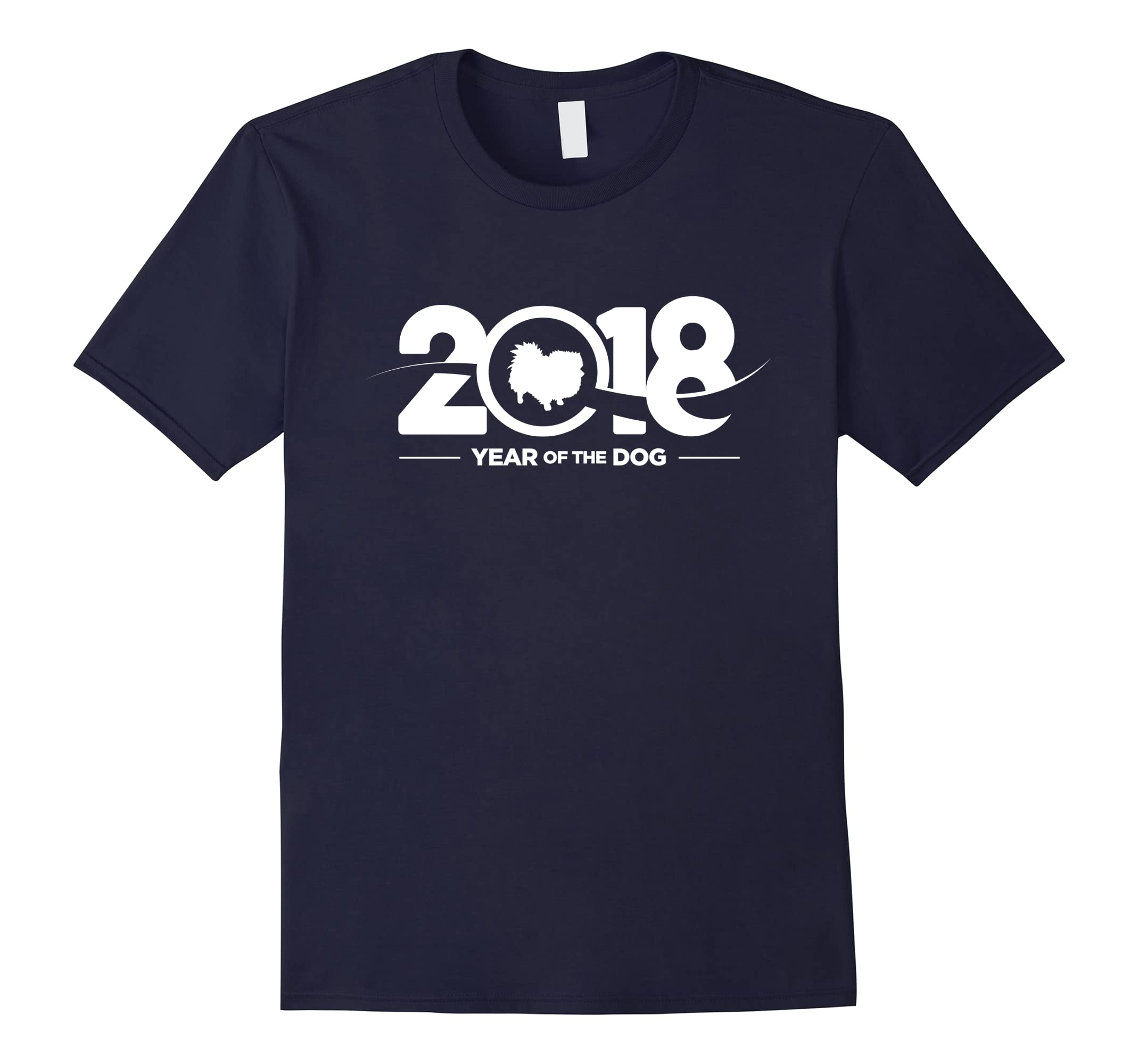 Pomeranian 2018 Year Dog T Shirt-Samdetee