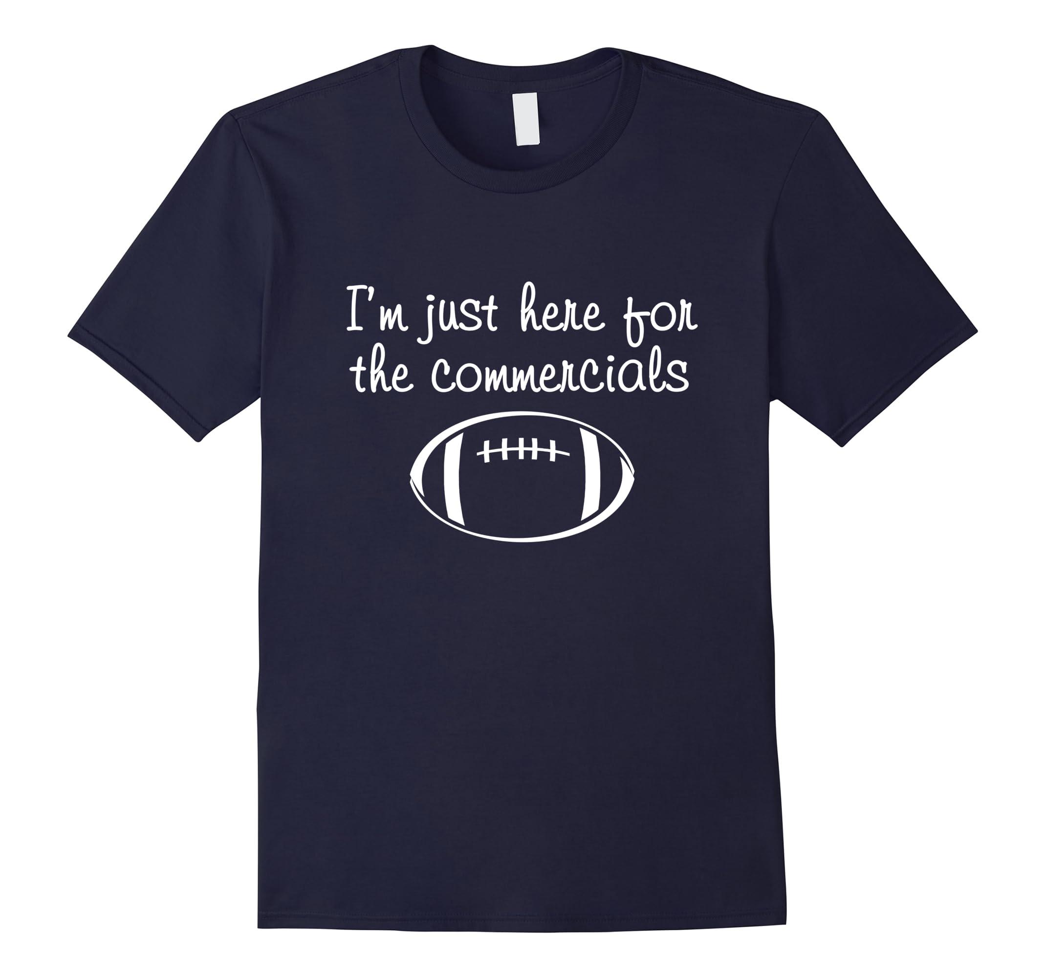 just commercials football womens shirt-Teesml