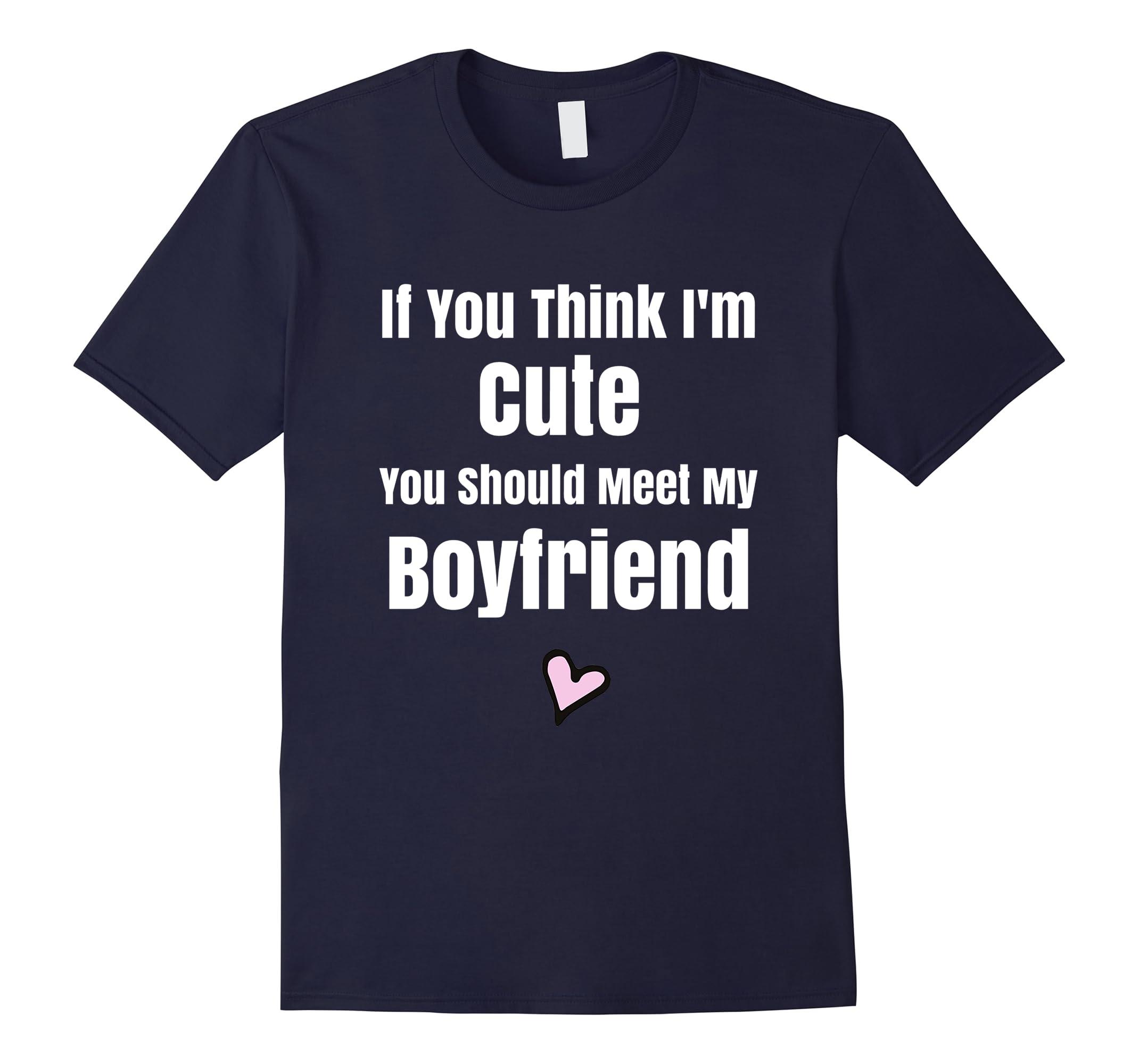 Girlfriend Shirt Couple Valentines Day-Teesml