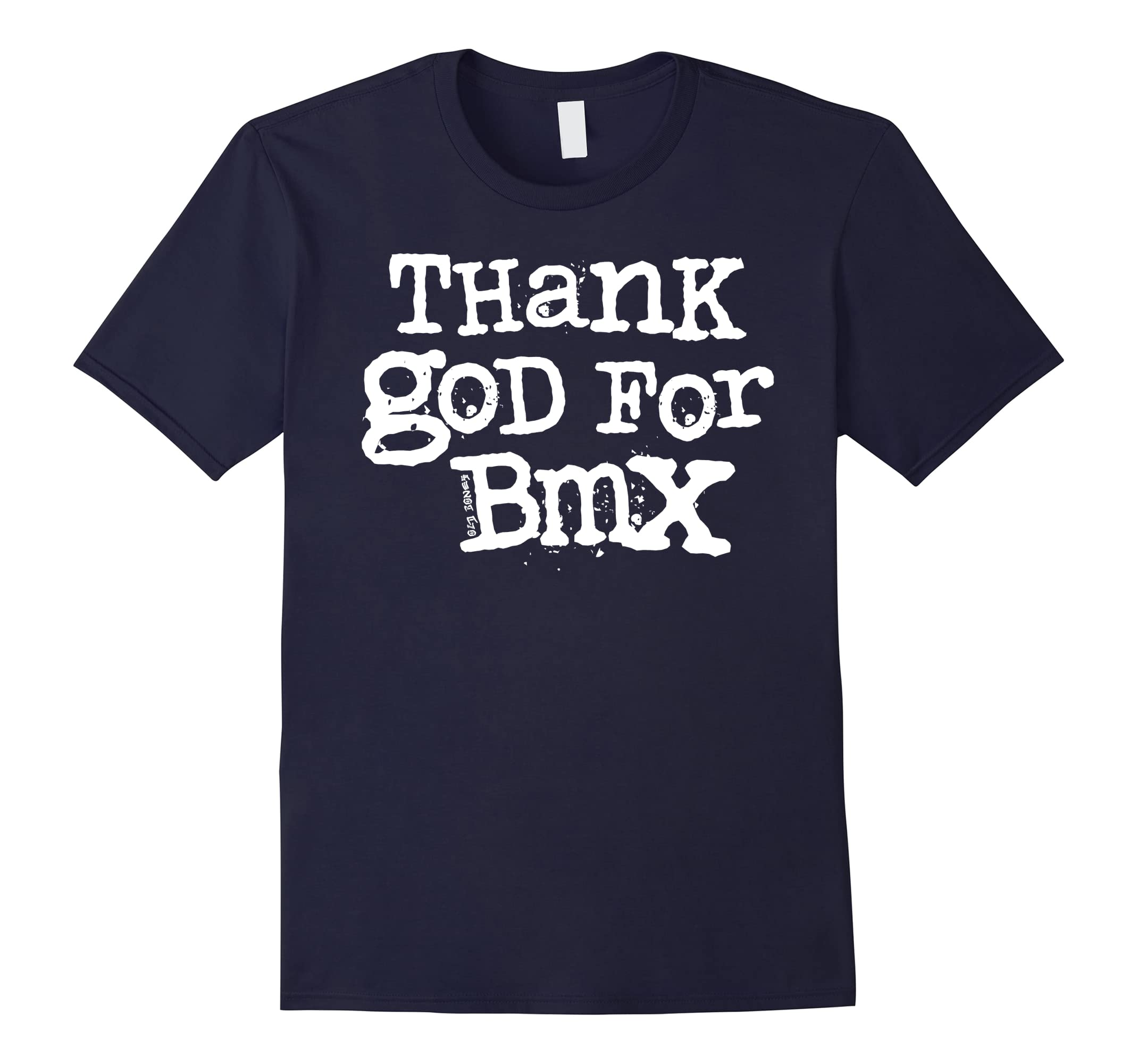 Old Bones Bmx - Thank God for Bmx Shirt-RT