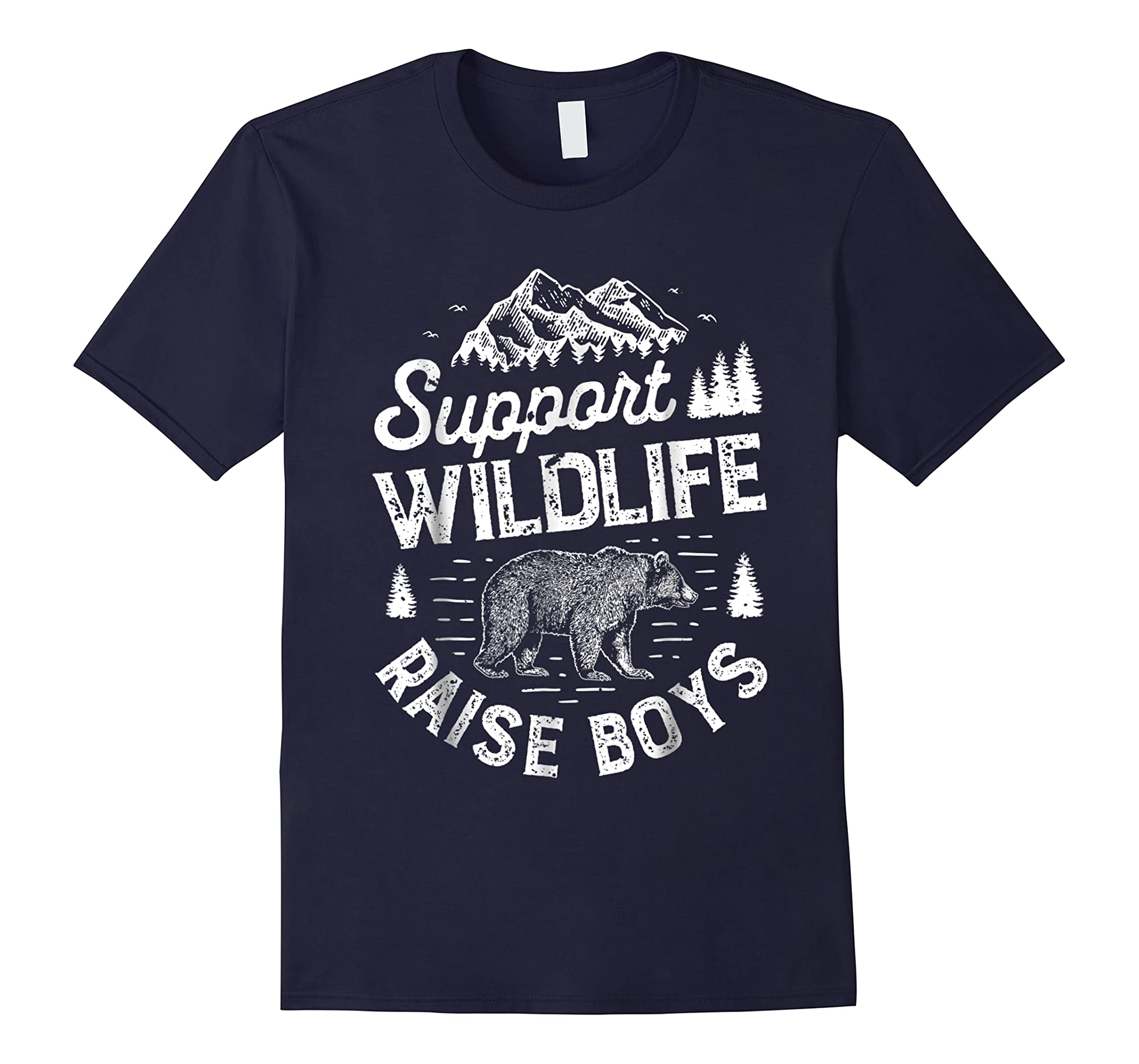 Top Selling Amazing Shirt Support Wildlife Raise T Shirt Mom Dad Mother Parents