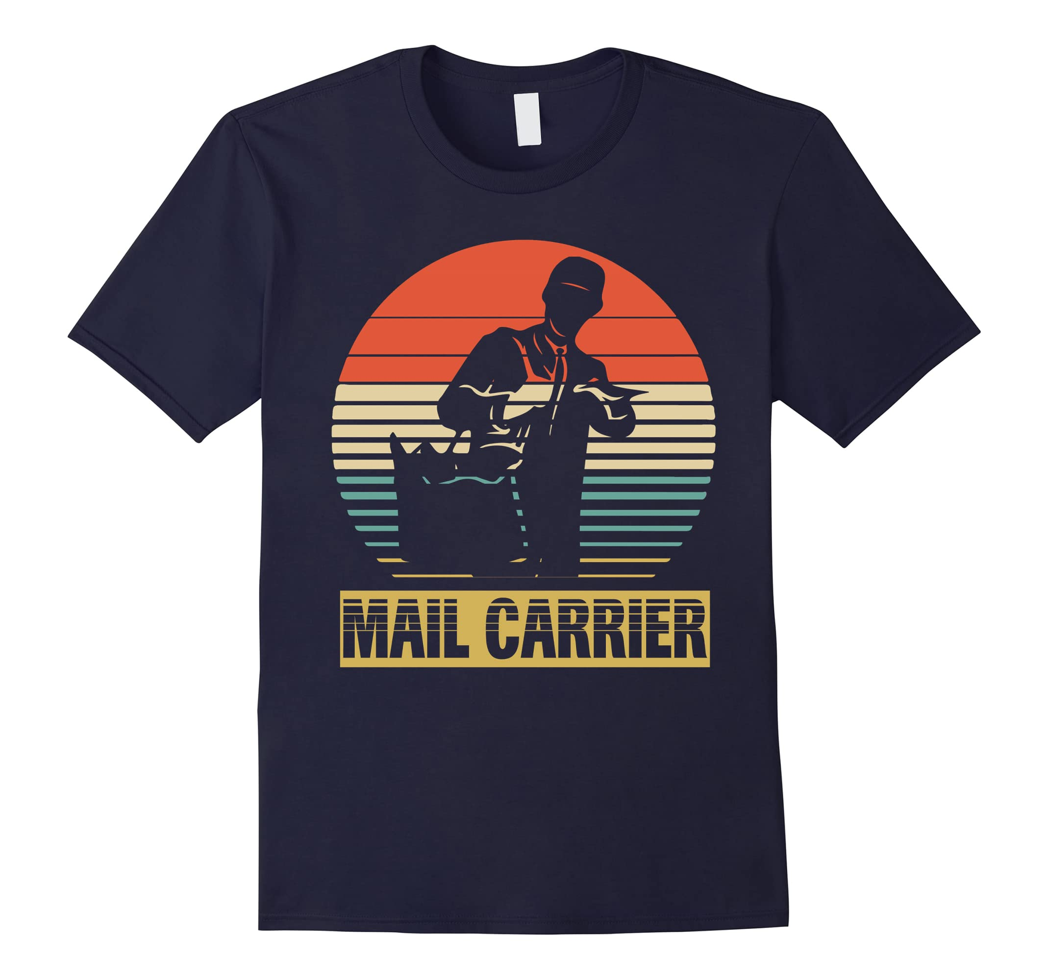 Vintage Shirt For Mail Carrier Birthday Gifts Ideal RT