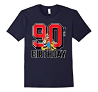 Disney Birthday Group 90th T Shirt Navy