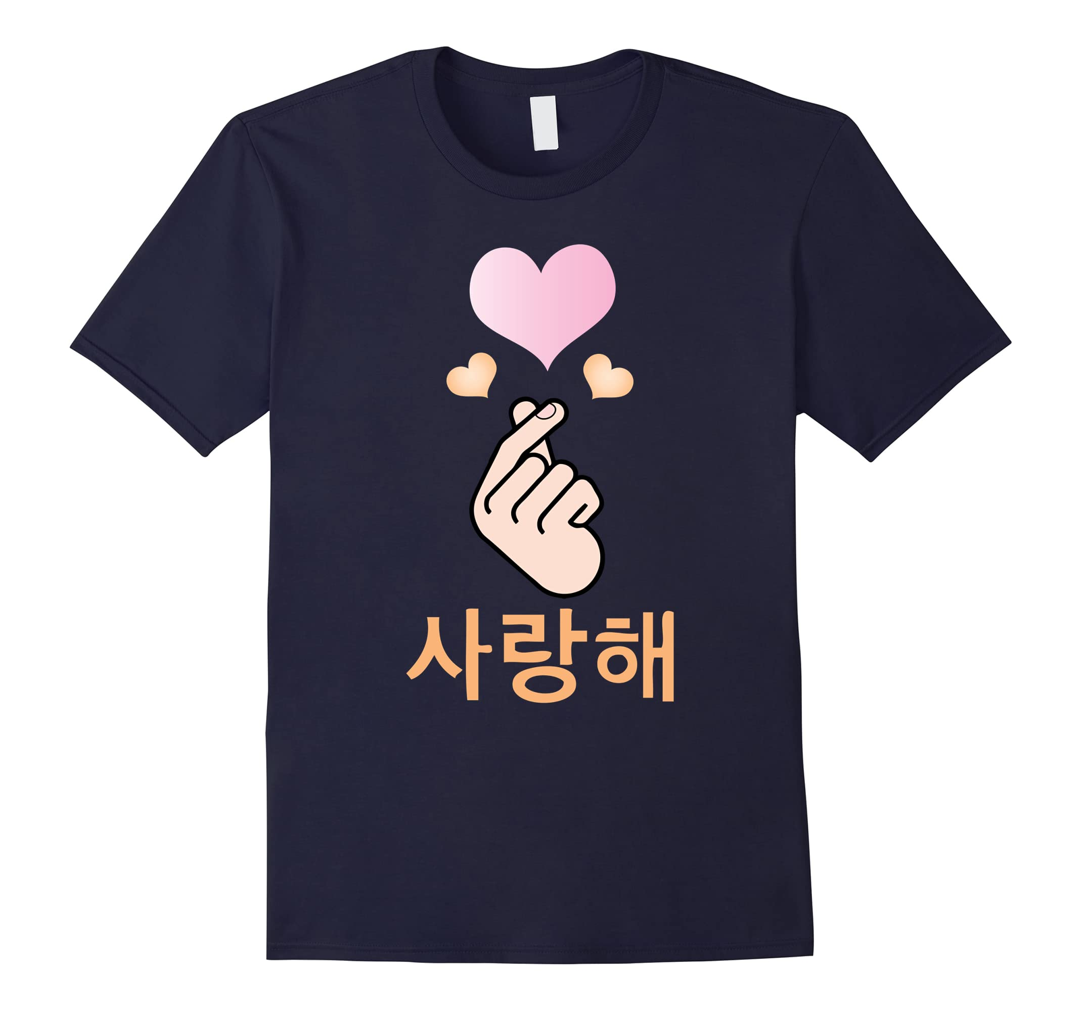 Korean Love Sarang Hae Tshirt-Awarplus
