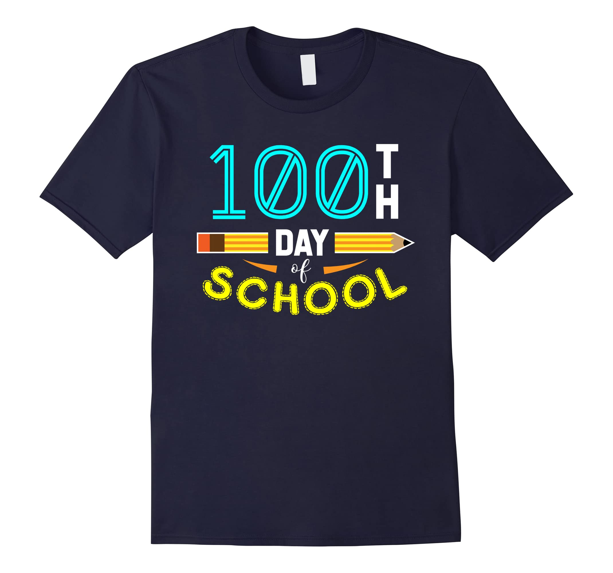 100th Day of School T-Shirt Cute Student Teacher Tee-RT