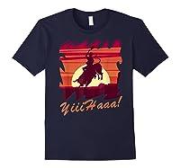 Rodeo 2019 T Shirt Houston Rodeo Cowboy Yiiihaaa Navy
