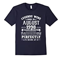 August 1998 20th Birthday Gift Shirt 20 Years Old Navy