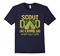 Scout Dad Cub Leader Boy Camping Scouting Gift Shirts Navy