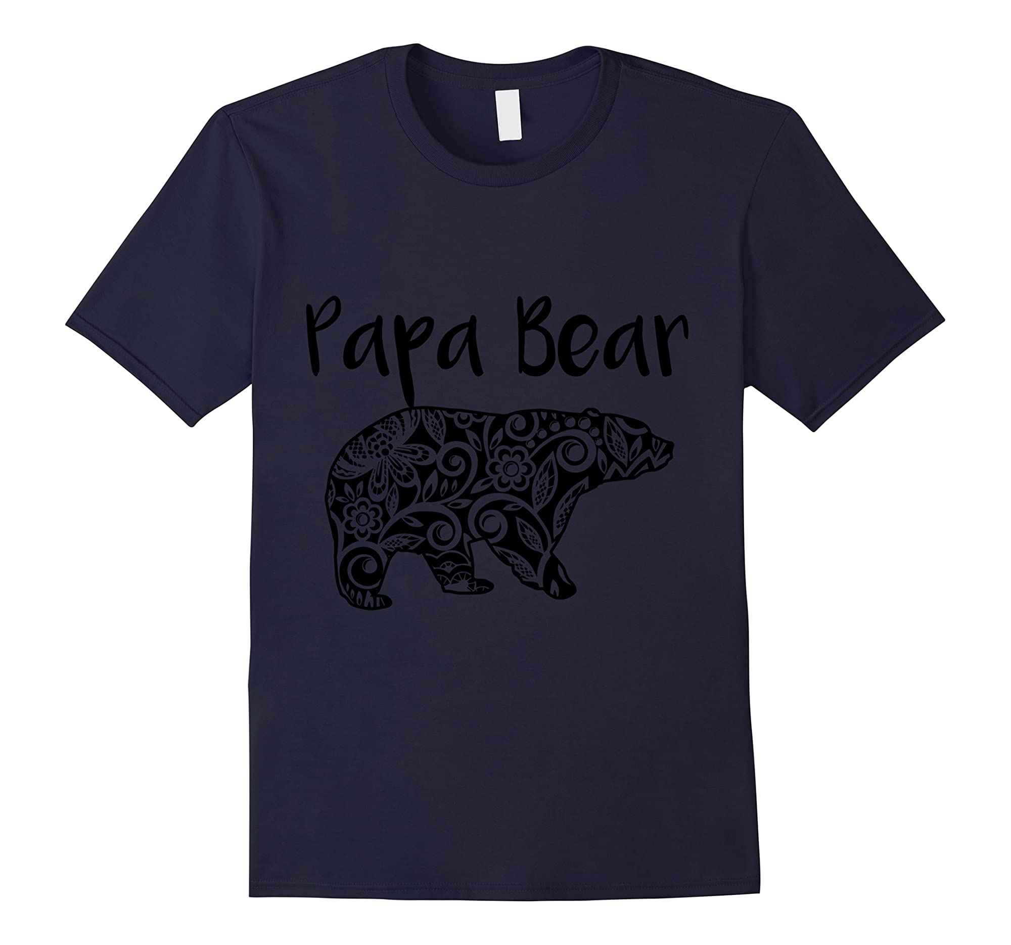 Fortuitous Dta Dta S Mama Papa Baby Bear Funny Family Matching Mother Day Ts Shirts Navy
