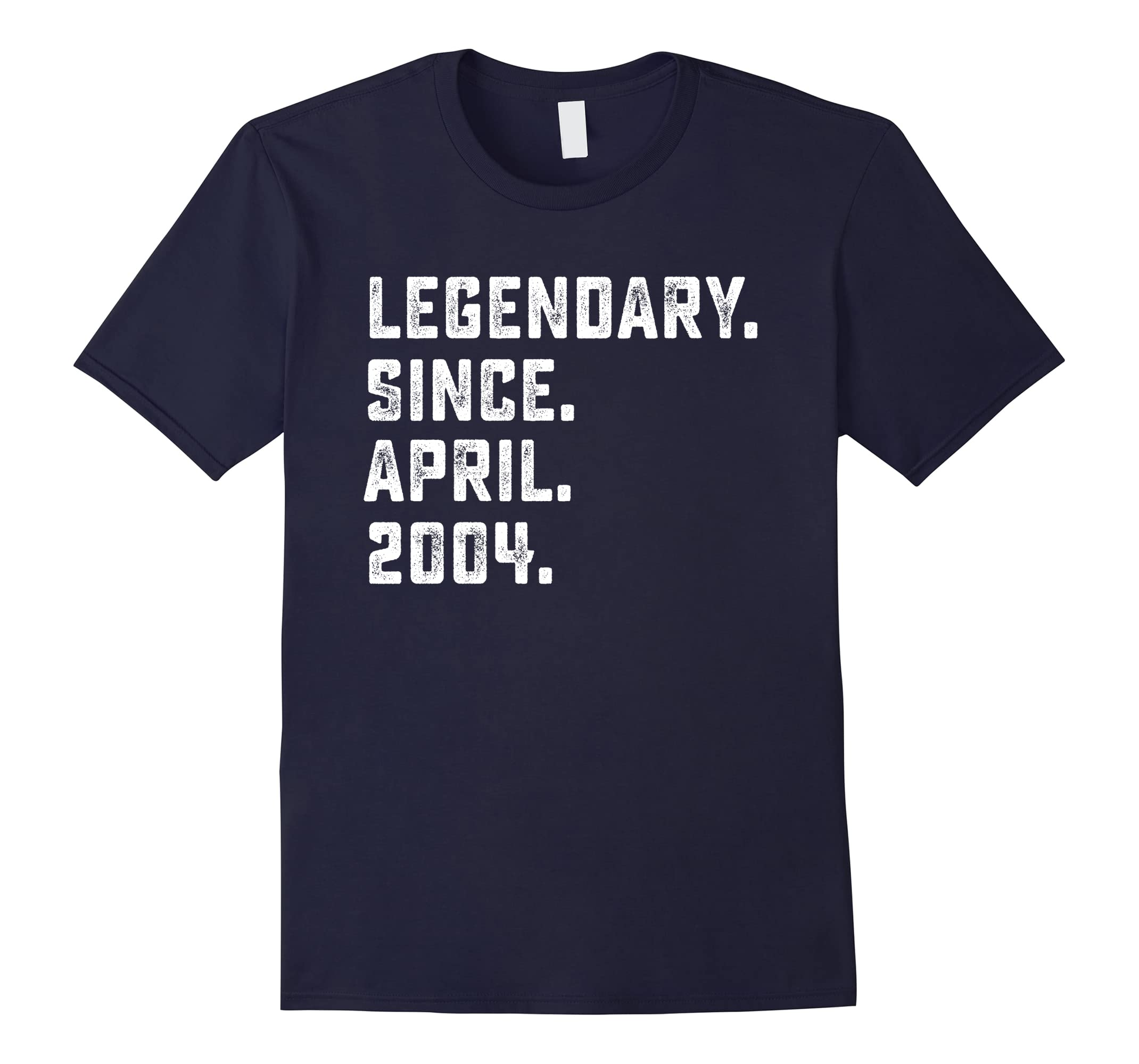 Legendary Since April 2004 14th Years Old Birthday Shirt-ah my shirt one gift