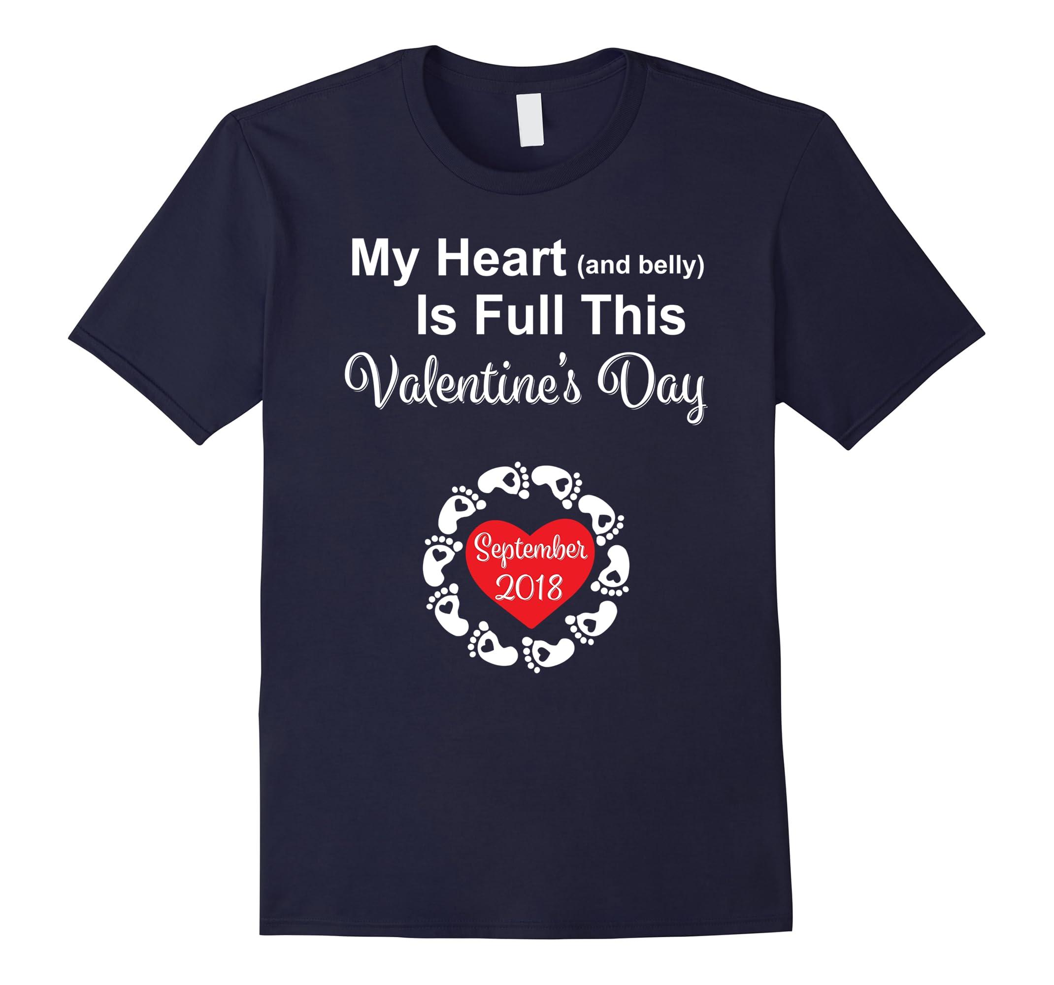 Valentines Pregnancy Announcement Shirt September-Newstyleth