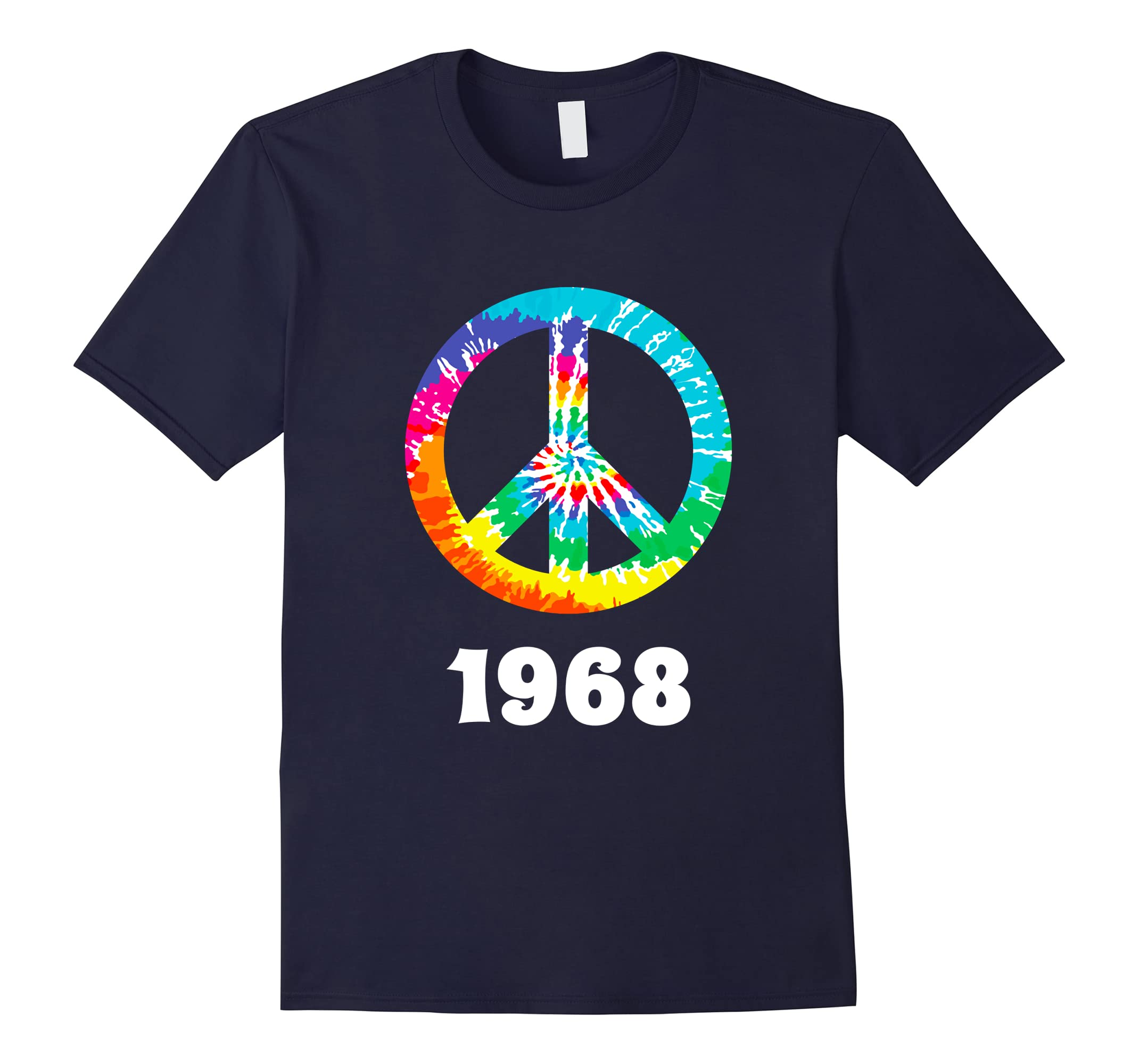 1968 Anniversary T Shirt Peace Sign Valentine Gift-RT